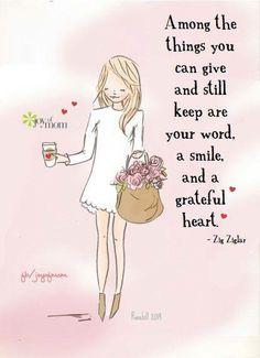#smile #grateful #heart