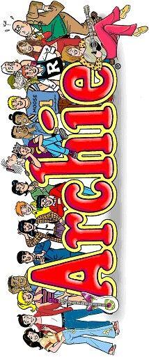 Archie Gang, Archie Comic Publications, Inc. https://www.pinterest.com/citygirlpideas/archie-comics/