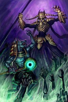 Hades destroys Anubis