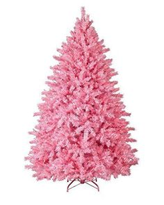 I love this pink Christmas tree .      lovely unique artificial Christmas trees that are all the rage for Christmas 2016.   Easily create an unforgettable Christmas 2016 by adding one of these trees Best Christmas Tree Deals      Treetopia Pretty in Pink Artificial Christmas Tree, 5 Feet, Unlit