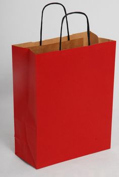 Red Carrier Bags Paper Shopping Bag, Packaging, Red, Bags, Home Decor, Handbags, Decoration Home, Room Decor, Wrapping
