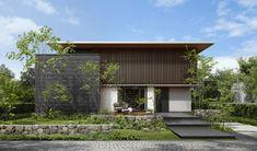 間取り|The Forest BF|木造注文住宅の住友林業 Japan Modern House, Modern Tropical House, Tropical Houses, Modern Japanese Architecture, Japan Architecture, Architecture Design, Chinese Architecture, Futuristic Architecture, Villa Design