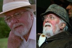 """Then and Now: Stars of """"Jurassic Park"""" 1993 & 2013. #thenandnow #jurassicpark"""
