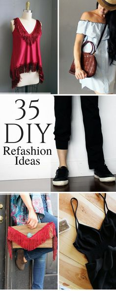 35 Refashion Ideas To Try in 2017