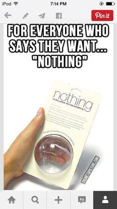 Basically, nothing.