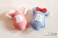 Lembrancinhas Maternidade - Body Rosa e Azul. Laçou meu ♡zinho com tal formosura.