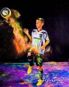 Powder Portrait: Soccer