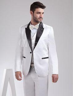 White Wedding Dress for Groom