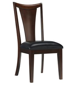 Standard Furniture Park Avenue Side Chair (Set of Traditional Dining Chairs, Contemporary Dining Chairs, Wood Sofa, Park Avenue, Upholstered Dining Chairs, Brown Wood, Fine Dining, Dining Table, All Modern