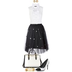 """White Blouse Outfit"" by angela-windsor on Polyvore"