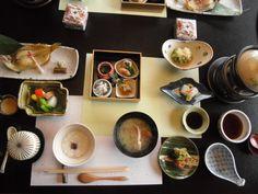 Onsen (hot spring) breakfast :)