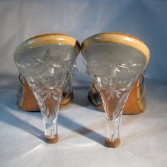 Vintage 1950s Springolator Wedding Shoes Carved by unionmadebride, $125.00