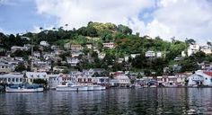 Kingstown Capital Of St Vincent The Grenadines Saint Vincent And The Grenadines World Cities Windward Islands