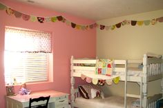 The Life of a Cheap Chickadee: 3 different Kids Room Buntings