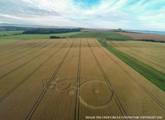 Crop Circle at  East Field (2), Nr Alton Barnes, Wiltshire. Reported 22nd July 2016