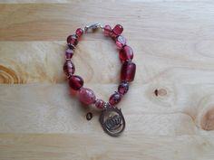 Crown with diamond chip bracelet by SecChnceTreasure on Etsy, $10.00