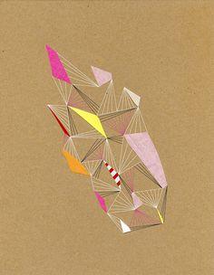 Série Constellation de l'artiste, designer et écrivain américain Chad Wys.