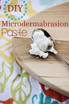 Make your own DIY Microdermabrasion paste with this simple home beauty treatment