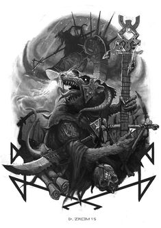 skaven clanrats coloring pages | 1000+ images about Warhammer - Skavens on Pinterest ...