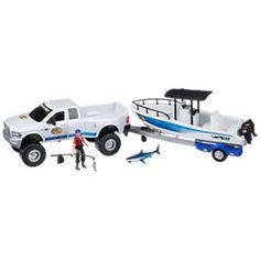 Bass Pro Shops® NITRO® Big Bass Adventure Toy Boat Set for ...