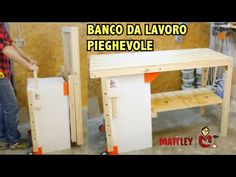 Banco Di Lavoro Black Amp Decker : How to make a folding assembly workbench using a set of sawhorse