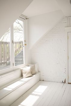 An All White Room Inside Melbourne S Red Court Mansion
