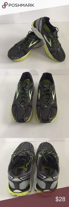 b908fd19e3b Brooks trance 12 running shoes Brooks trance 12 running shoes great  condition gray with yellow and