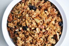 How To Make Salty Olive Oil Granola