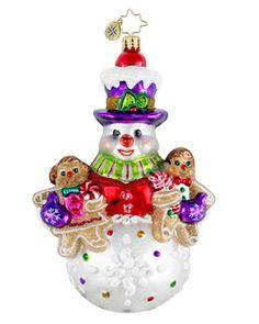 Image detail for -Christopher Radko Christopher Radko One Sweet Trio Ornament
