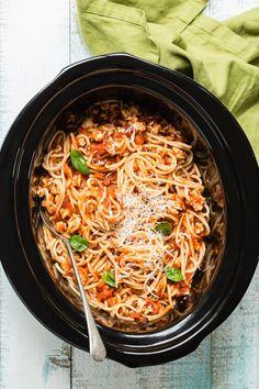 Crock Pot Spaghetti