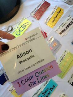 200 best conference badges images on pinterest in 2018 name badges