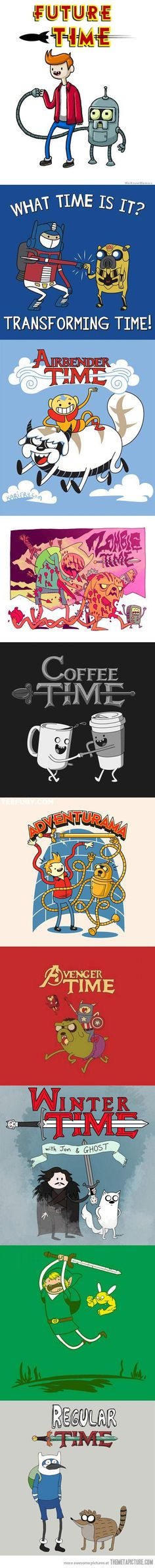 Adventure Time Mashups…