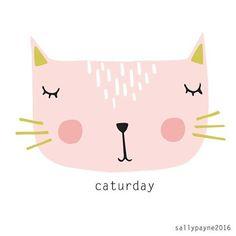 Happy caturday  #faces #cats #catsofinstagram #illustrator #caturday