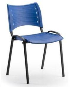 Cadeira Secretária Fixa pp empilhável - iso CE04A