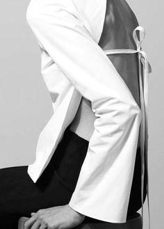 Protagonist ┃ Shirt 12 Open Back Blouse, Skirt 05 Front Zip Skirt
