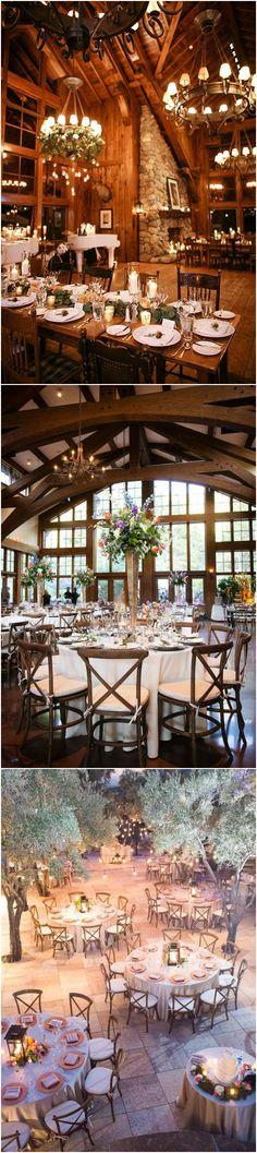 chic winter wedding reception decoration ideas