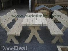 Discover All Garden Furniture & Decking For Sale in Ireland on DoneDeal. Buy & Sell on Ireland's Largest Garden Furniture & Decking Marketplace. Timber Products, Garden Fencing, Decking, Picnic Table, Play Houses, Garden Furniture, Kids Playing, Gazebo, Ireland