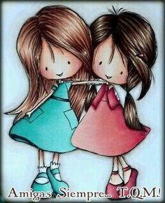 Que Dios siempre bendiga y cuide de nuestra amistad. Amigas por Siempre... T.Q.M.!: