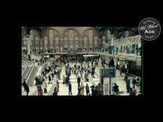 'Dance', created by Saatchi & Saatchi London, was produced using hidden TV cameras within the station, which captured the spontaneous reactions of commuters . Tv Adverts, Tv Ads, Hidden Tv, Saatchi, Dancing, Entertainment, Videos, Youtube, Fun
