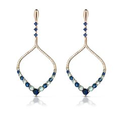Mediterraneo Gioielli ~ Pioggia collection earrings