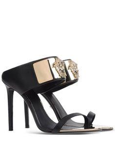 Versus Versace Mules - black OxuXJXWD