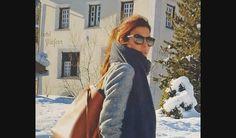 El street style de Juliana Awada para pasear por los Alpes suizos   Fashion TV