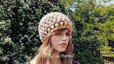 69249470447 CROCHET How To  Crochet Ladies Ribbed Newsboy Hat  TUTORIAL  335 ...