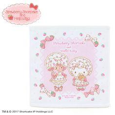 Hello Kitty × Strawberry Shortcake Hand Towel
