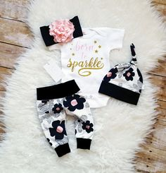 46f64b3ea Daddy s Princess Outfit Baby Girl Monogrammed Bodysuit First ...
