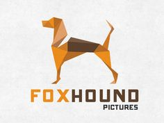 Foxhound Pictures logo by Andres Garcia (Houston Texas) Web Design Logo, Identity Design, Logos, Logo Branding, English Posters, Love Logo, Breakfast Tea, The Fox And The Hound, Picture Logo