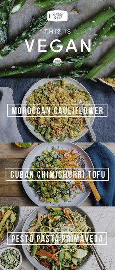 (Re)discover vegan with Green Chef. We send you fresh, organic ingredients & inspired, nourishing recipes. You cook amazing, plant-based dinners — on the table in just 30 minutes.
