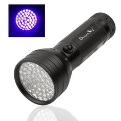 DreamSky 395 nM 51 Leds Ultraviolet Black Light Flashlight ** Find out more about the great product at the image link.
