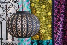 Bohemian Medium Lantern Black Moroccan Lamp, Moroccan Lanterns, Ceiling Rose, Ceiling Lights, Moroccan Inspired Bedroom, Clear Light Bulbs, Electrical Fittings, Asian Decor, Black Furniture