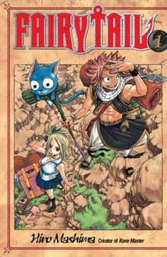 Fairy Tail, Vol. 01 (Fairy Tail, #1)
